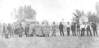Littleton Hose Company #1 in 1892.